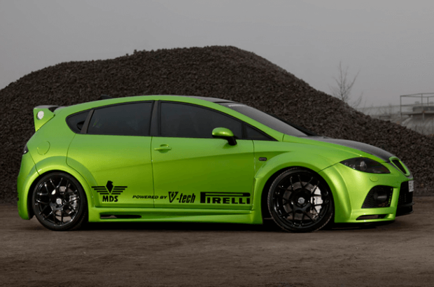 seat leon cupra mean and green hre performance wheels. Black Bedroom Furniture Sets. Home Design Ideas